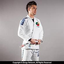 """Athlete"" White Jiu Jitsu Gi"